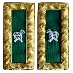 Knights Templar Shoulder Boards - Bullion Embroidered generalissimo