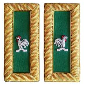 Knights Templar Shoulder Boards Bullion Embroidered captain general