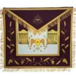 Masonic Scottish Rite 95th Degree Hand embroidered apron