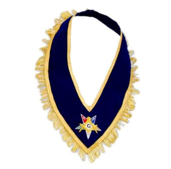 Past Grand Patron Order of the Eastern Star OES Collar