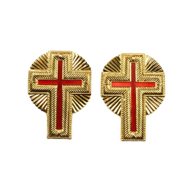 Knight Templar Sleeve Crosses Past Commander
