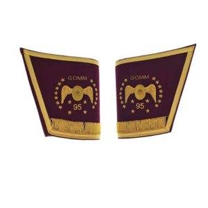 Masonic-Scottish-Rite-95th-Degree-Hand-embroidered-cuffs