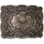 Men's Kilt Belt Buckle Antique Finish – Scottish Highland Celtic Buckles – Claddagh, Stag, Rampant Lion, Serpent, Saltire