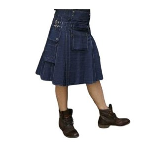 Men's Denim kilt