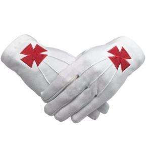 Masonic Gloves white