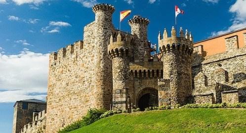 Castle of Ponferrada: