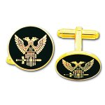 Scottish Rite Double Eagle Cufflinks