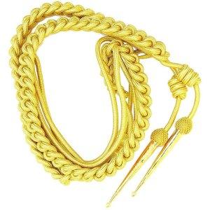 Gold Wire Navy Officer Dress Aiguillette