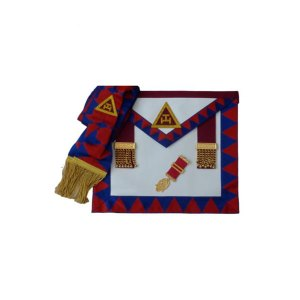 Lambskin Royal Arch Principals Apron Sash & Jewel