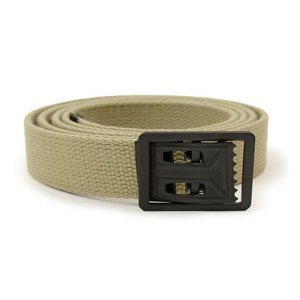 Khaki Web Belt