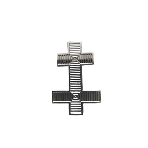 knight Templar Great Officer Cap Badge Cross Metal