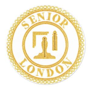London Rank Full Dress Apron Badge