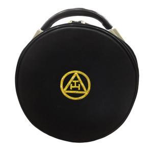 Masonic Royal Arch Bullion Embroidery Crown/Cap Case