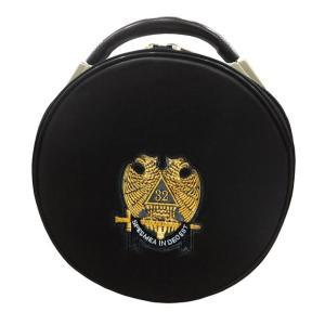 Masonic Scottish Rite Double-Eagle 32 Degrees Hat/Cap Case