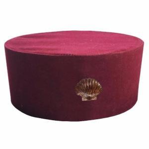 Masonic St. Thomas of Acon Cap/Hat with Shell