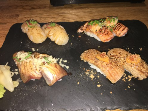 LondonsDiningCouple Dozo Sushi Soho Review | Top 10 Sushi Dishes in London