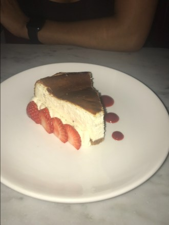 LondonsDiningCouple Maze Grill Mayfair Review | Top 10 Desserts in London