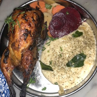 Tandoori Quail Chop House Special - Tandoor Chop House Review
