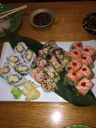 Prawn Tempura Roll; Crunchy Tuna Roll; Rocket Roll