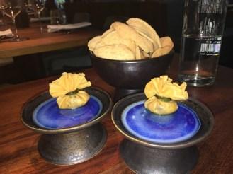 sample of mini crispy fried vegetable filled dumpling
