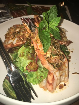 prawns in roasted chilli