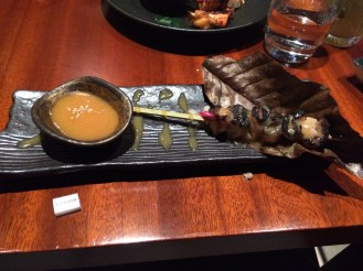 Black Cod skewers - from two years ago; they don't do them anymore