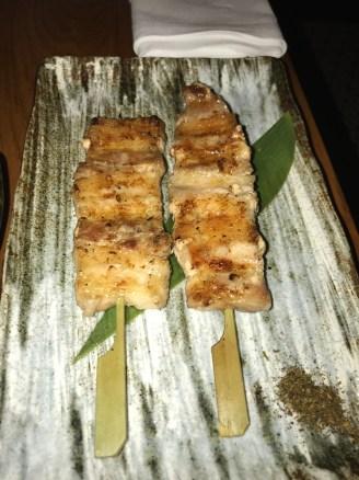 Kurobuta (Pork Belly Skewers)