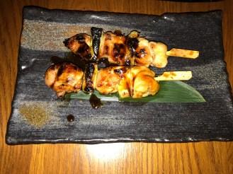 Negima (Chicken skewers)