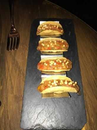 Tacos de Cangrejo (Vegetable tacos)