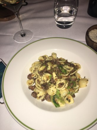 Orecchiette Duck Ragu and Savoy Cabbage