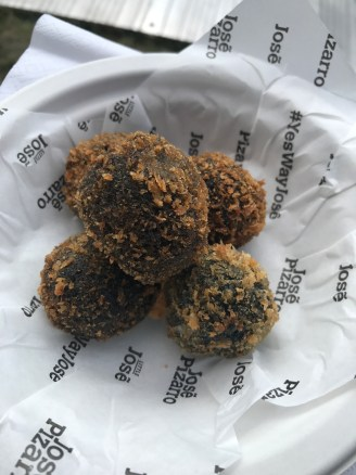 Squid Ink Croquetas - Little Jose