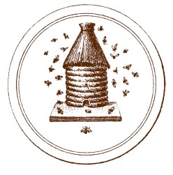 french beehive vintage image--graphicsfairy1brn