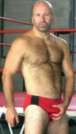 Budgie Smuggler speedo hairy bear daddy
