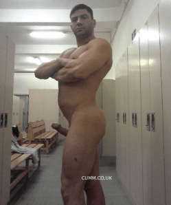 big cock at the gym
