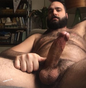 Big Mature Cock of the Month hung hairy dutch bear