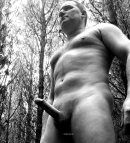 big cock outdoors