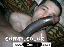 cocksucking the big black cock that has been fucking my wife