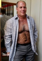 suit hairy dad
