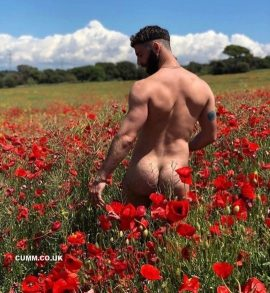 flowers and arses