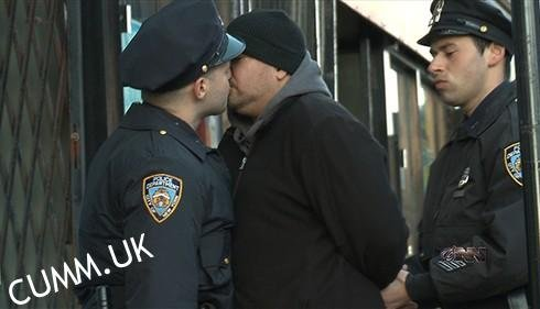 kiss the cop kiss the cock