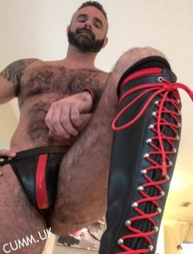 leather daddy boots