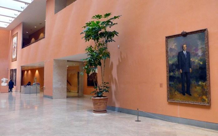 Inside the Museo Nacional Thyssen-Bornemisza