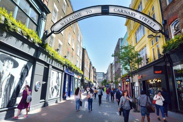 Carnaby Street London UK