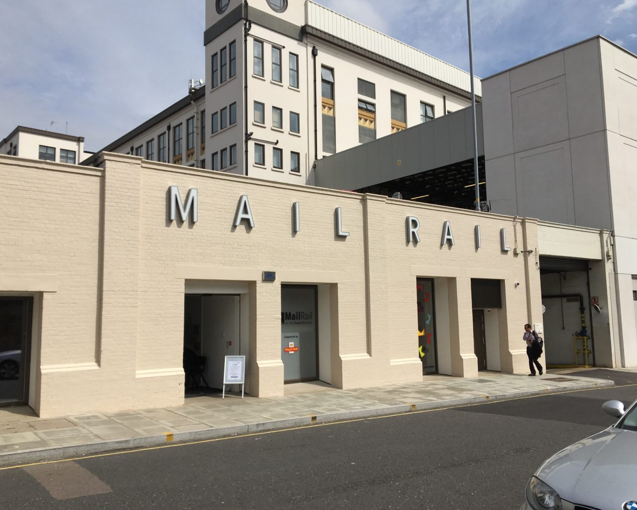 Mail Rail entrance
