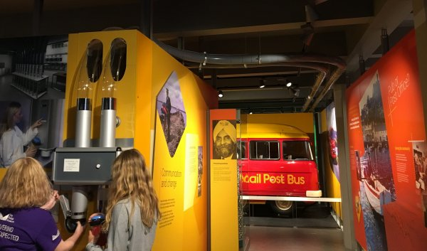 The Postal Museum - pneumatic message system