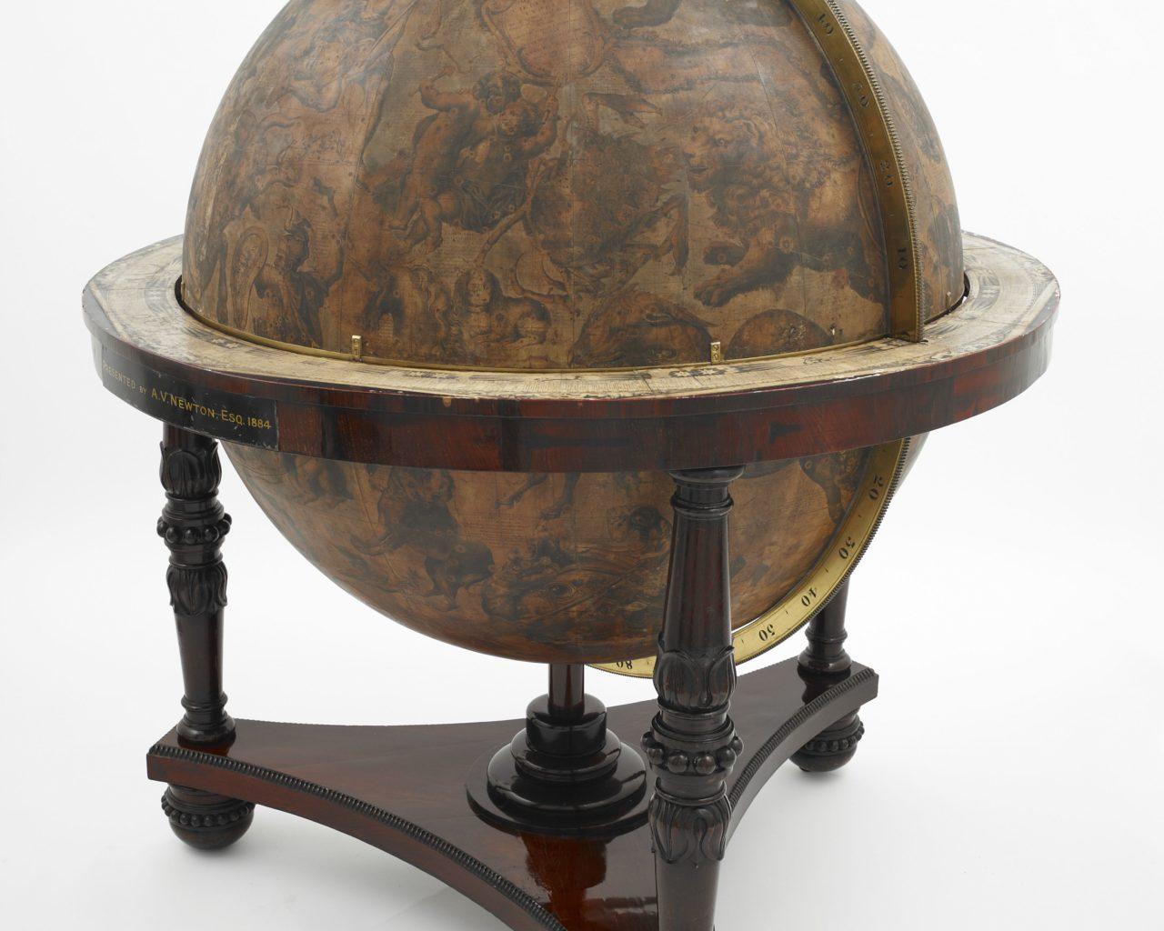 Celestial Globe, Vincenzo Coronelli, Orbis Coelestis Typus (c) British Library Board