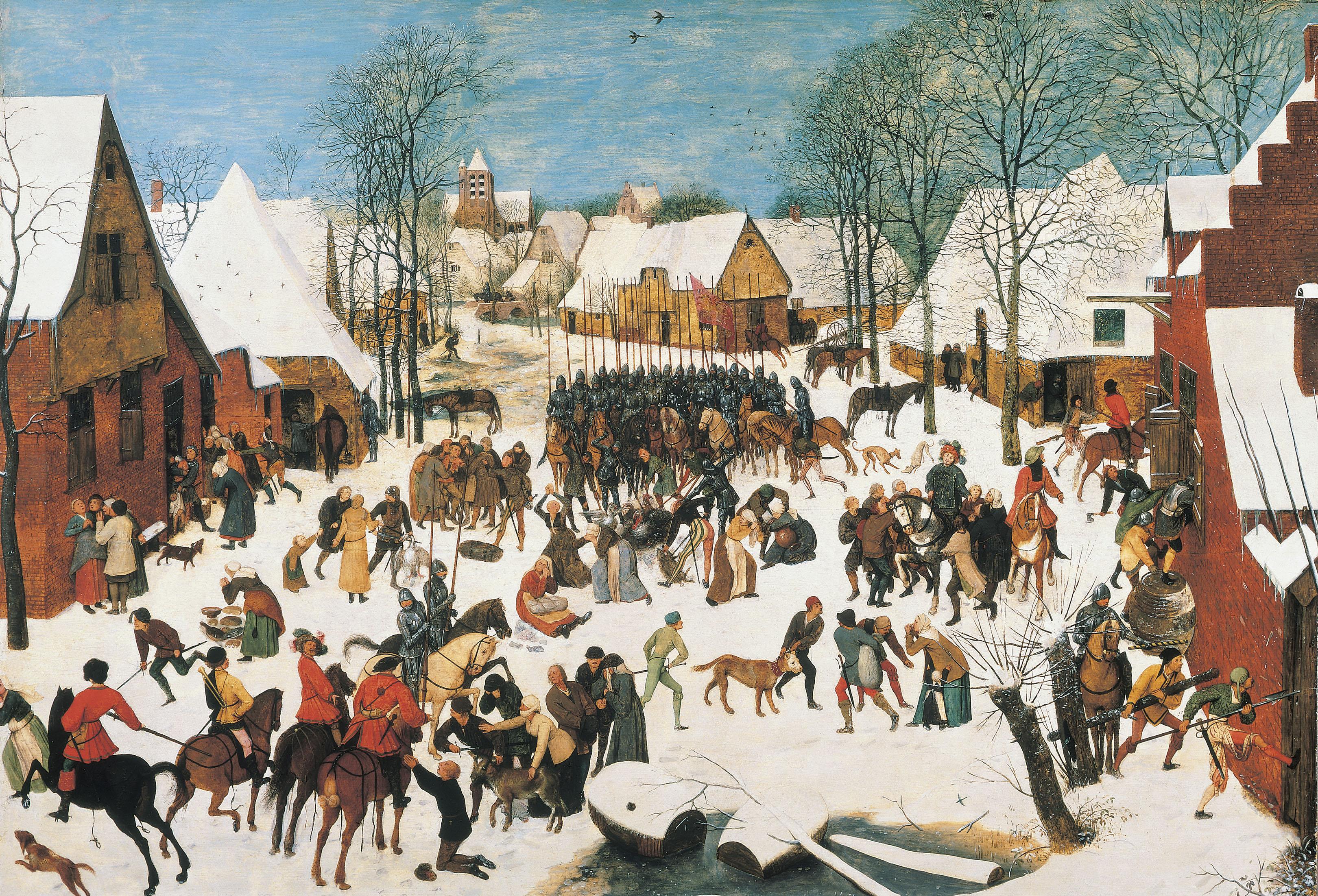 Pieter Brugel the Elder, The Massacre of the Innocents, c.1565/67