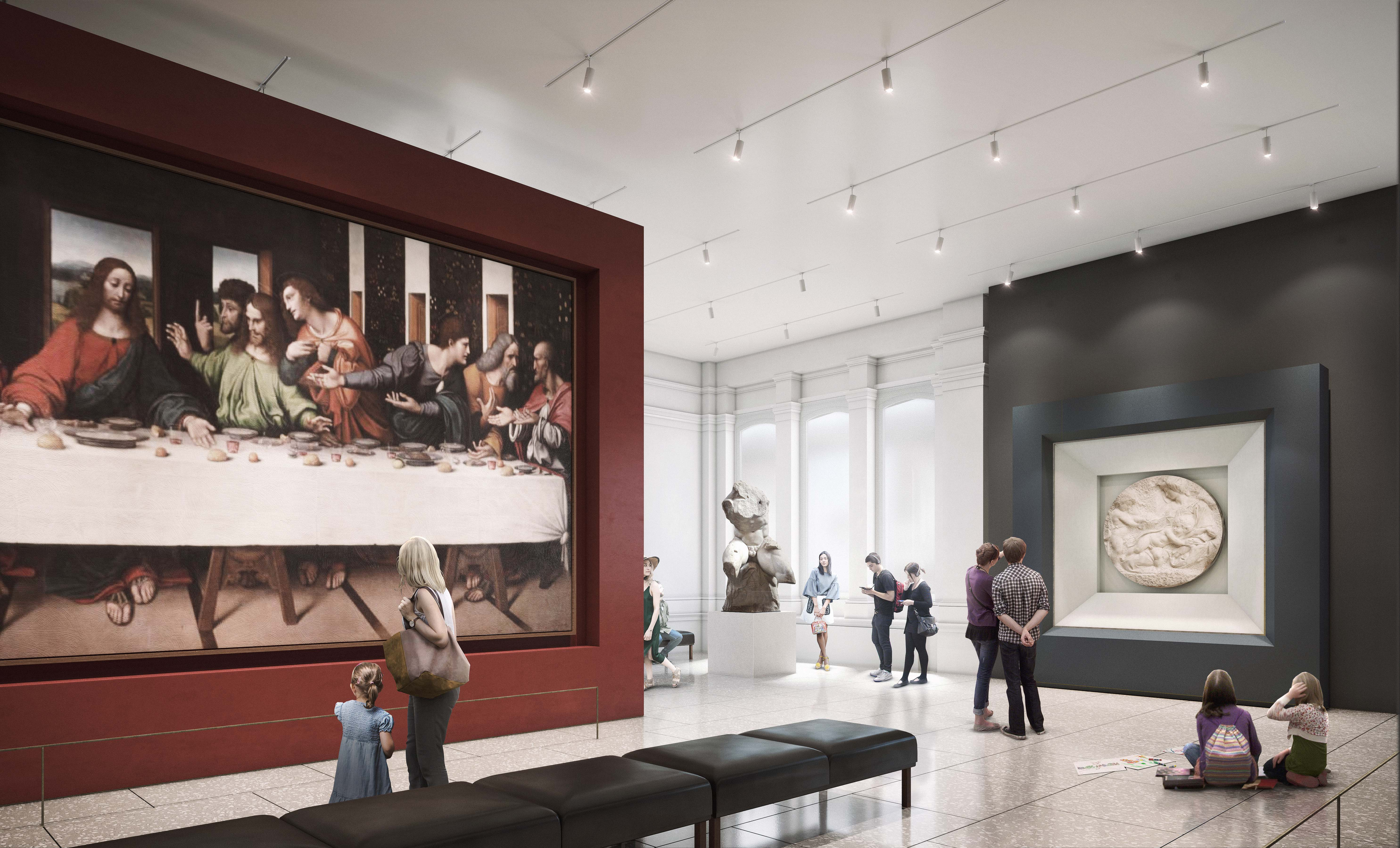 New Royal Academy - Collection Gallery in 2018