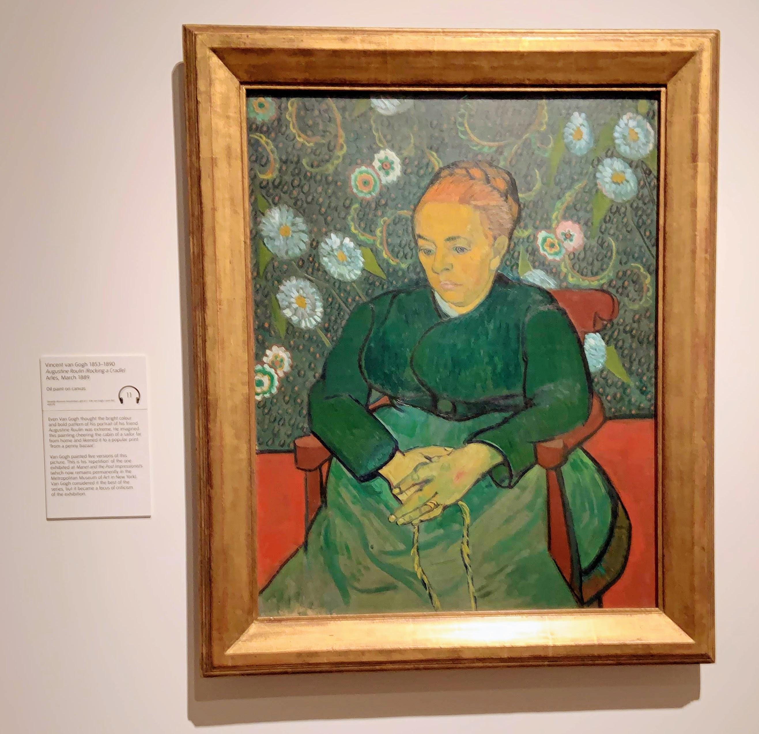 Vincent van Gogh - Augustine Roulin (Rocking a Cradle). Arles, March 1889