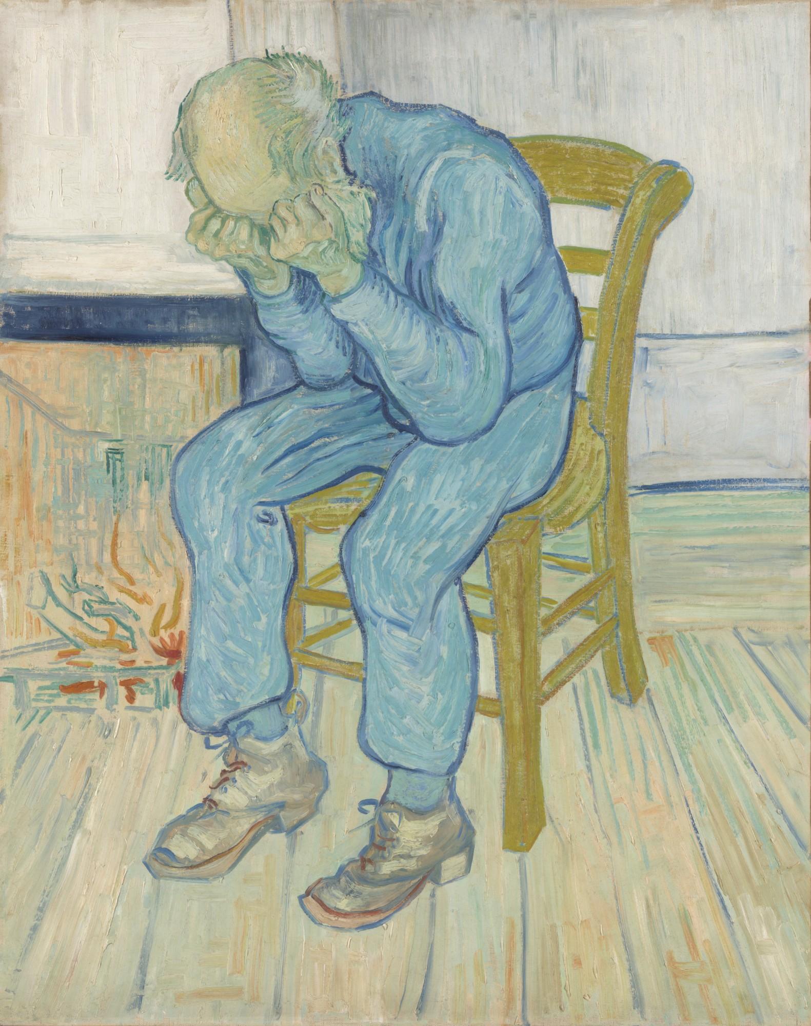Vincent van Gogh – At Eternity's Gate, 1890. Collection Kröller-Müller Museum, Otterlo